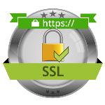 دارای گواهینامه امنیتی  ssl(وبسایت امن)
