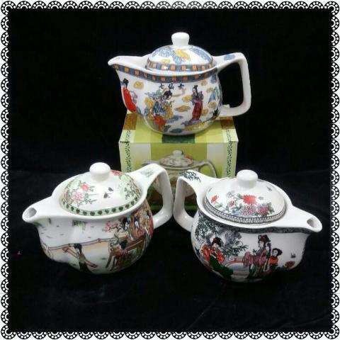 قوری کوچک چای سبز  و دمنوش | هایپرشاین
