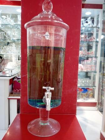 کلمن شیشه ای بلند در هایپرشاین hypershine.ir
