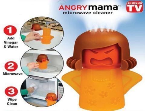 تمیز کننده ماکروویو angry mama  را با تخفیف ویژه از هایپرشاین بخواهید / hypershine.ir