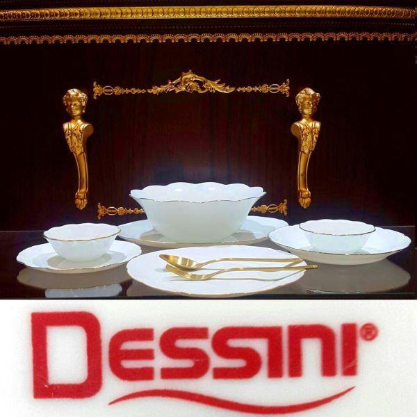 سرویس آرکوپال 6نفره 26 پارچه لب طلایی دسینی  Dessini در هایپرشاین