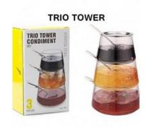 برج مربا Trio Tower Condiment